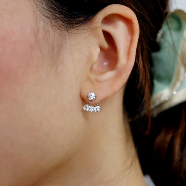 【特別価格】K18WG Total0.488ct 天然カラーダイヤモンド ネックレス FANCY INTENSE PURPLISH PINK SI2ピンクダイヤモンド※中央宝石研究所ソーティングシート付