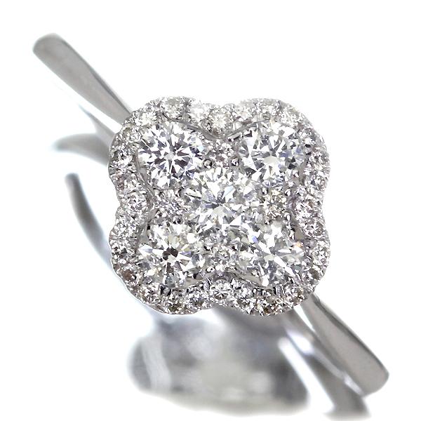 PT900 0.81ctアパタイトリング 0.3ctダイヤモンド