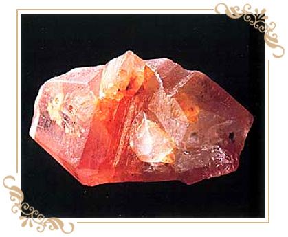 パパラチャサファイヤ,9月誕生石、パパラチヤ、サファイヤ、ピンキッシュオレンジ、稀少石