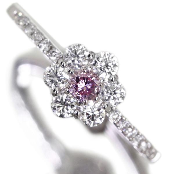 ピンクダイヤモンドジュエリー