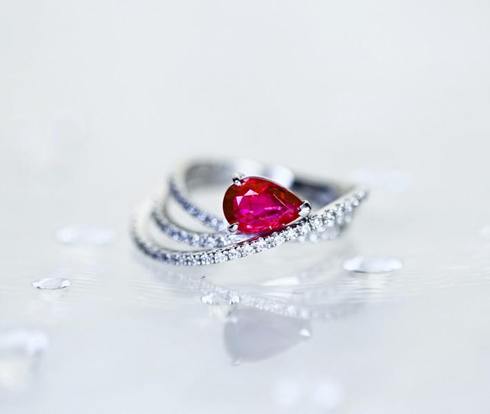 PT900 1.17ct 非加熱ルビー リング 0.12ct ダイヤモンド ※TOKYO GEM LABORATORY ソーティングシート付き