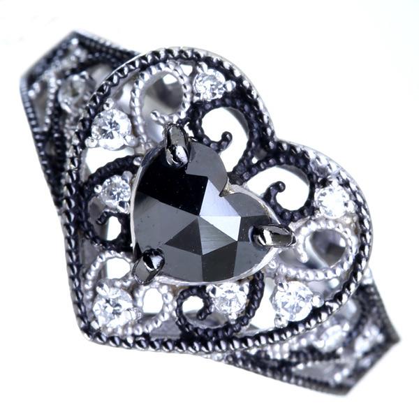 PT900 7.66ct グリーントルマリン リング 0.625ct ダイヤモンド ※NGL鑑別書付