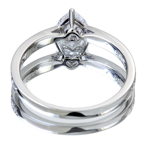 ジュエリー通販ジュエルプラネット PT900 0.45ctルビー リング 0.5ctダイヤモンド