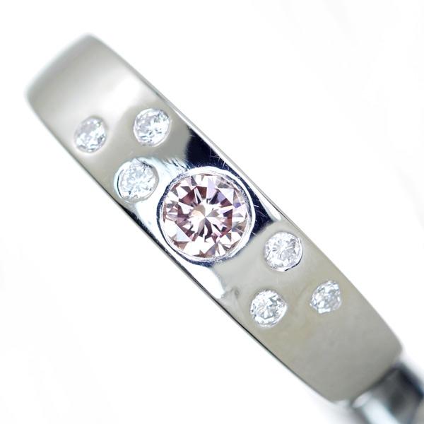 【日替わり大特価】K18PG 0.4ctピンクサファイア リング 0.18ct ダイヤモンド