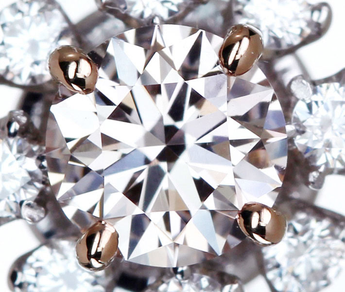 ピンクダイヤモンドリング