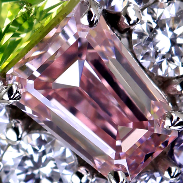 ジュエリー通販ジュエルプラネット ピンクダイヤモンド リング