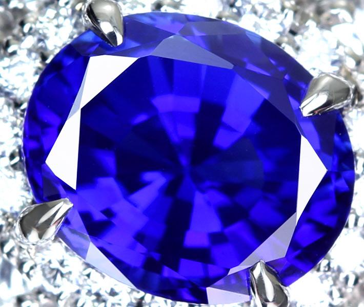 【JP PREMIUM】【HANDMADE】非加熱カシミールサファイア リング 1.99ct ダイヤモンド 2.232ct/ピンクダイヤモンド 0.312ct PT950 ※GRS鑑別書・中央宝石研究所ソーティングシート付