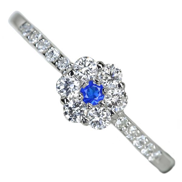 【日替わり大特価】K18 0.4ctデマントイドガーネット リング 0.25ct ダイヤモンド