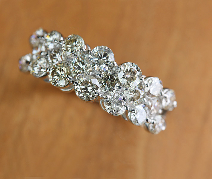 【Total 2ct!!】 PT900 ダイヤモンド2.0ct リング