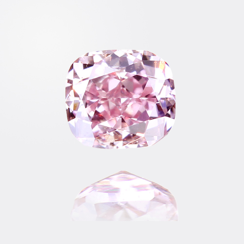 0.173ct fancy intense purplish pink ピンクダイヤモンド