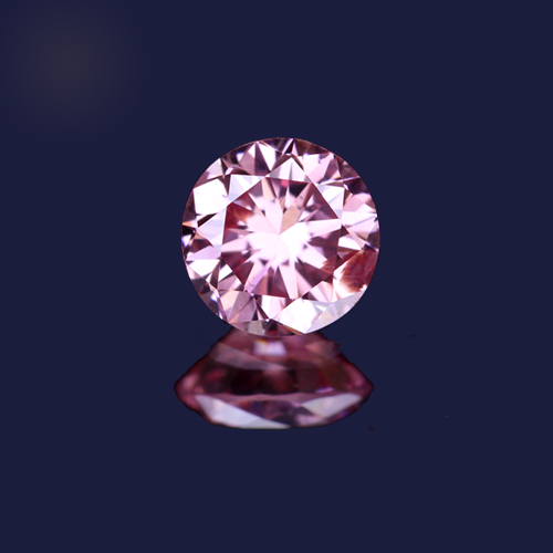 0.074ct fancy vivid purplish pink ピンクダイヤモンド