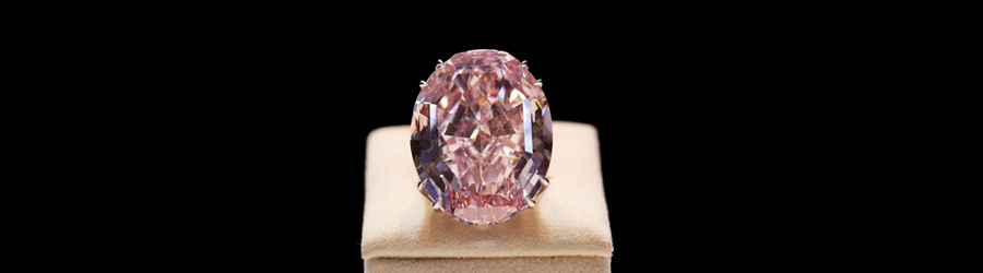 サザビーズ 59.60ct PINK STAR FANCY VIVID IF