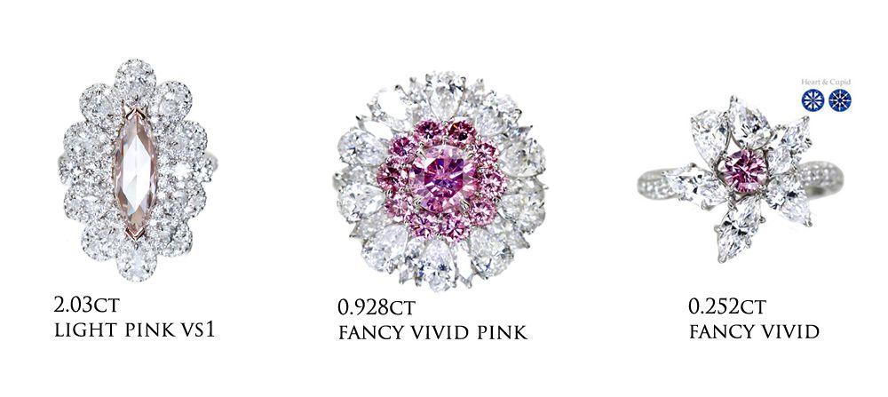 jewel planet ピンクダイヤモンド ハンドメイドジュエリー