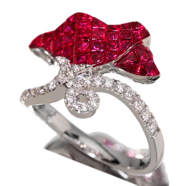 ジュエリー通販ジュエルプラネット ビルマ産 ピンクスピネル 0.812ct ネックレス ダイヤモンド 0.43ct K18