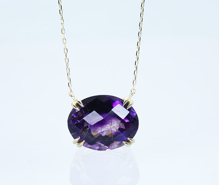 【CANDY COLLECTION】【HANDMADE】K18 スーパーセブン 5.9ct ネックレス