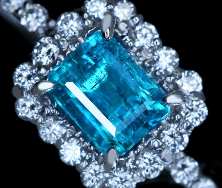 ジュエリー通販ジュエルプラネット パライバトルマリン パライバ ネオン ブラジル産 ブルー