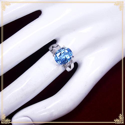 ジュエリー通販ジュエルプラネットブルートパーズ指輪