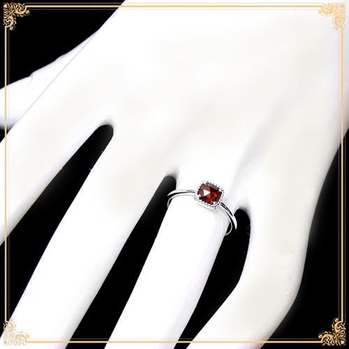 ジュエリー通販ジュエルプラネットロードライトガーネット指輪