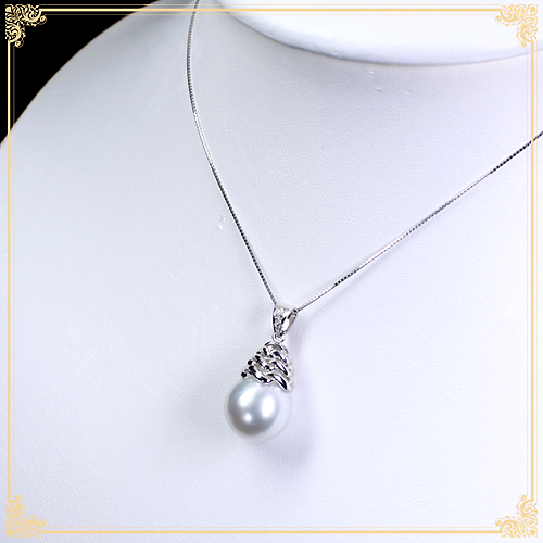 ジュエリー通販ジュエルプラネット白蝶真珠ネックレス