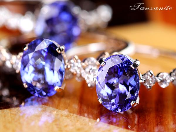 ジュエリー通販ジュエルプラネットタンザナイト指輪
