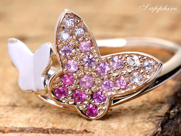 ジュエリー通販ジュエルプラネットピンクサファイア指輪