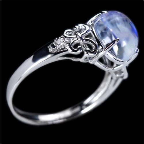 ジュエリー通販ジュエルプラネットロイヤルブルームーンストーン指輪