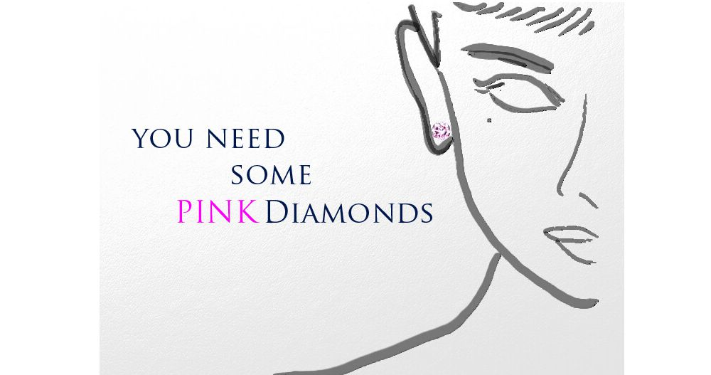 YOU NEED SOME PINK DIAMONDS -ピンクダイヤモンド-