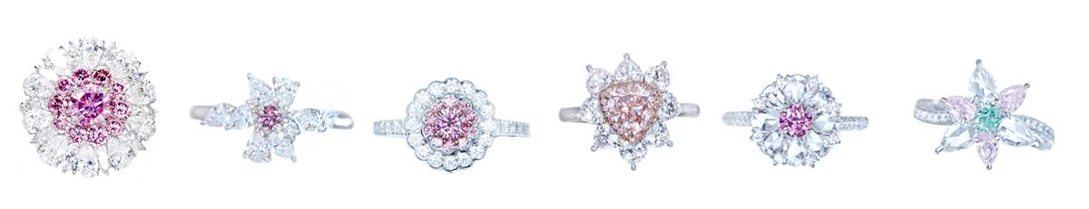 ピンクダイヤモンド ウェディング